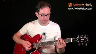 Part 4 of 4 - How to Play a Blues Guitar Rhythm in the Key of A - EP018-4
