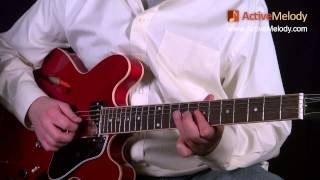 Blues Lead Guitar Solo Lesson, In the Key of B (Part 5 of 6) - No Accompaniment: EP017-5