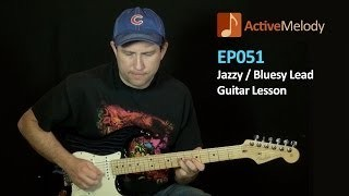 Jazzy Blues Lead Guitar Lesson - Big Band Style - EP051