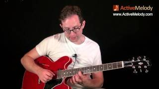 Part 3 of 4 - How to Play a Blues Lead Guitar Solo and Rhythm in the Key of A - EP018-3