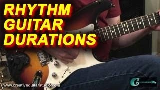 RHYTHM GUITAR: The Duration Workout Exercise