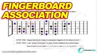 MUSIC THEORY: System for Fingerboard Association