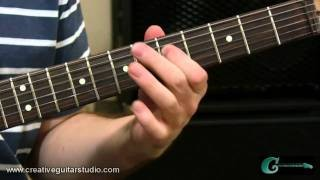 GUITAR THEORY: Intervals from Music Staff to Guitar Neck