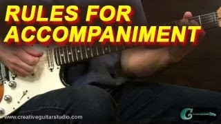 EAR TRAINING: The Golden Rules of Accompaniment