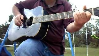 Delta Blues Acoustic Guitar lesson- You can also play Country Gospel with this Tuning