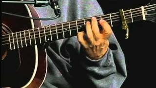 "Brownie McGhee Acoustic Blues Guitar Lesson ""Careless Love"" Masters of Delta Blues Guitar"