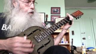 Slide Guitar Blues Lesson In Open D
