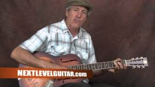 Learn Delta Blues Slide electric guitar Keb' Mo' inspired lesson Am I wrong style open G tuning