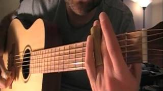 Beginning Finger Picking Guitar and Delta Blues Patterns Guitar Lesson Part 4