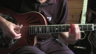 Delta Blues - Slide guitar lesson-Part 3-The Old School-Muddy Waters