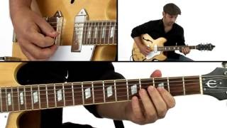 Swing Blues Guitar Lesson - Billy Boy: Solo 1 Performance - David Blacker