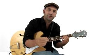 Swing Blues Guitar Lesson - Billy Boy Overview - David Blacker