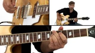 Swing Blues Guitar Lesson - Billy Boy: Solo 1 Breakdown - David Blacker