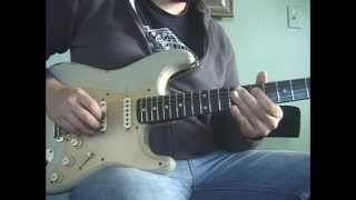 Albert Collins style blues lick guitar lesson
