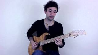 Cool Blues Pentatonic Lick in A7 - Blues Guitar Lesson on Pentatonic Licks