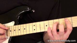 Blues Guitar Solo Lesson - Just Guitar