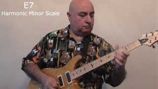 The Harmonic Minor Scale for the Guitar