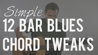 Tweaking the Standard 12 Bar Blues Chord Progression | TB072