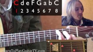 Learn to Play the Guitar: 1-4-5 chord progression