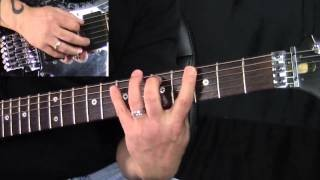 The Major Scale - Guitar (Spread Fingering And Major Modes)