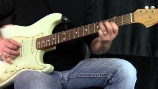 Modern Blues for Guitar Tutorial