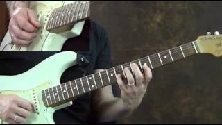 Guitar Lessons - an Easy Blues Pattern Lick in Groups of 3 Notes