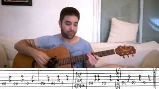 4 Advanced Fingerstyle Exercise Riffs - Guitar Lesson Tutorial w/ TAB