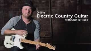 Electric Country Guitar Lessons with Guthrie Trapp - Promo