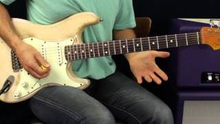 Blues Rock Soloing - Shifting Positions - Guitar Lesson