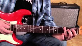 Blues Inspired Rock - Blues and Rock Guitar Lessons - Inspired by Black Keys, White Stripes....