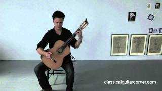 Classical Guitar Lesson - Basic Posture