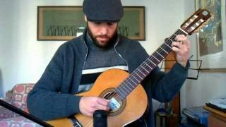 Stairway to heaven on classical guitar