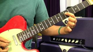 Free Blues Rock Guitar Lesson Pentatonic Riffs Position 1 Part 2