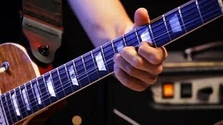 How to Play 1 Fret Bends | Heavy Metal Guitar