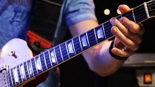 How to Play Guitar Riffs in A Major | Heavy Metal Guitar
