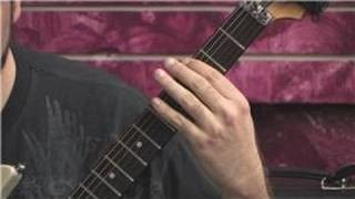 Learn Heavy Metal Guitar : Tap Harmonics