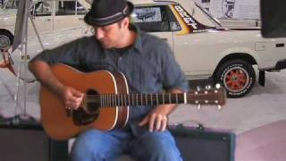 Learn To Play Slide Guitar - Acoustic Blues Beginner Slide Lesson