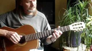 "Acoustic Guitar Lessons ""E Blues Thing"" Tab Included"