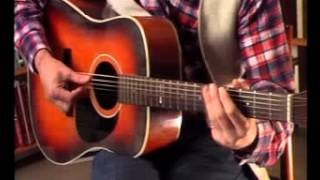 Slide Blues Guitar Riff in Open G Tuning - Acoustic Blues Guitar Lesson