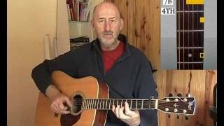 Jim Bruce Blues Guitar - Big Bill Broonzy - Hey Hey - Blues Guitar Lesson Preview