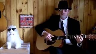 Acoustic Blues Blues Guitar - Jesus, Takin' Me Home - Reverend Jim Bavery