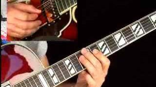 Jazzed Blues Guitar Lessons - Mark Stefani - Lick #4