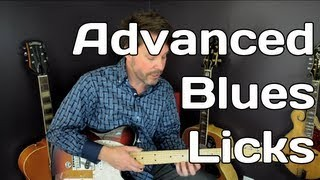 Guitar Blues Licks - Free Guitar Lesson Advanced - Video 6 of 7