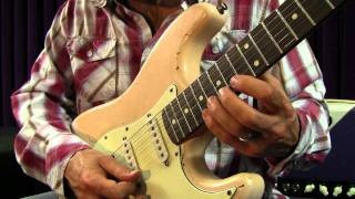 Heavy Rock and Blues Guitar Lessons - Blues Shred Licks Lesson