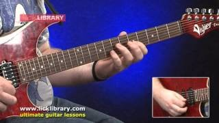 Easy Blues Fusion DVD - Guitar Lessons With Levi Clay NEW From Licklibrary!
