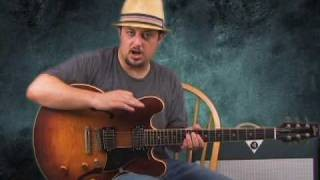 lead guitar lessons - blues and funk solos