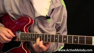 The Double Stop: A Blues Rhythm / Lead Guitar Lesson