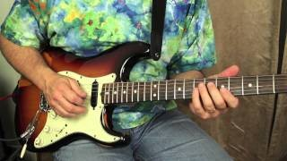 Guitar Lessons - Lead Guitar Solo Lessons - Jazzy licks for Rock and Blues