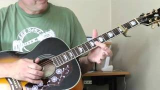 Mississippi Blues - Willie Brown Lesson Part 1