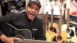 10 SONGS That You Can Sing To The 12 Bar Blues On Guitar #1 Tutorial EricBlackmonMusicHD